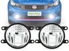 Kit Farol de Milha Neblina Universal LED Osram 90mm
