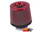 Filtro K&N Cônico Universal Vermelho RR-3001