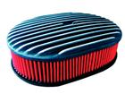 Filtro Ar Oval Aletado Para Opala Caravan Maverick Carburador RC711