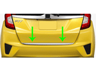 Friso de Porta Malas para Honda New Fit 2015/2017