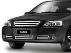 Grade Aço Inox Chevrolet Astra 03/12 Superior e Inferior Fusion SEM logotipo