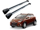 Rack Travessa de Teto para Hyundai HB20X - Projecar Prata Largo