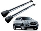 Rack Travessa de Teto para Hyundai IX35 - Projecar Prata Largo