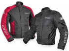 Jaqueta Moto Texx Impermeável Ronin com Proteção Preta e Vermelha