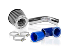 Kit Air Cool Race Chrome Duplo Fluxo Prata HB20 HB20S HB20X 1.6