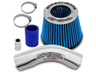 Kit Air Cool Race Chrome Duplo Fluxo Azul HB20 HB20S HB20X 1.6