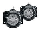 Kit Farol Auxiliar LED Palio / Uno / Strada / Punto / Siena / Ducato / Idea / Brava / Marea LED 12V 3W