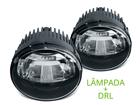 Kit Farol de Milha Neblina LED Universal e DRL Shocklight 10W 12V