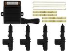 Trava Elétrica Universal 4 Portas com Centralina - Tech One