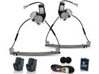 Kit Vidro Elétrico Sensorizado para Clio 2P 2003/2012