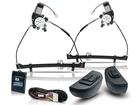 Kit Vidro Elétrico Sensorizado para Escort Sapao Logus Pointer