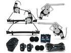 Kit Vidro Elétrico Sensorizado para Escort Zetec 4P Completo