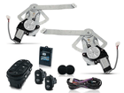 Kit Vidro Elétrico Sensorizado para Escort Zetec Traseiro
