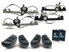 Kit Vidro Elétrico Sensorizado para Logan 2011/2013 Completo