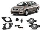 Kit Farol de Milha para Versa 11/15 Automotive Imports