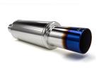 Abafador Drift Premium Aço Inox 304 Luzian LA016 Burned Tip