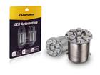 Lâmpada LED 9 LEDs SMD 3528 BA15S 12V Amarela Tarponn