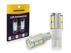 Lâmpada LED Pingo T10 10 LED SMD 5630 24V Branca Tarponn