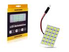 Lâmpada LED Placa 24 LED SMD 5050 12V Branca Tarponn