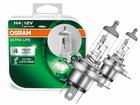 Lâmpada Osram Ultra Life H4 Amarela Par 3200K 55W/60W - Dura 4x Mais