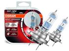 Lâmpada Osram Night Breaker Unlimited H7 Branca Par 3900K 55W +110% Iluminação