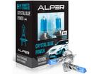 Lâmpada Super Branca Alper Crystal Blue Power H1 4200K