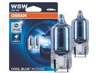 Lâmpada Pingo Osram Cool Blue Intense W5W T10 Super Branca Par 4000K 5W