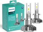 Lâmpada Philips Led Ultinon H7 Par 6200K + 160% Iluminação