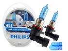 Lâmpada Crystal Vision Ultra HB3 9005 Philips Super Branca 4300K + Pingo