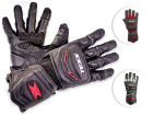 Luva Motociclista Texx em Couro Iron Touch Finger
