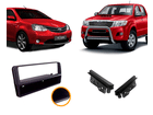 Moldura do Rádio para Toyota Etios / Hilux / SW4 2DIN 1DIN