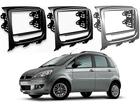 Moldura do Rádio para Fiat Idea 2013 Em Diante 2DIN