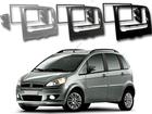 Moldura do Rádio para Fiat Idea 2014 Em Diante 2DIN (Painel Novo)