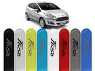Friso Lateral Pintado para Ford New Fiesta 2012/..