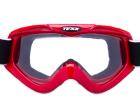 Óculos Motocross Texx Fx-4 Vermelho com Lente Cristal (Anti-Embaçante)