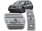 Pedaleira Golf TSI Automático em Aço Inox - Listrado Preto