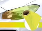 Película Adesiva Amarelo Camaleâo Farol e Lanterna 1m Aplicação Universal
