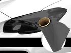 Película Adesiva Preto Escuro Farol e Lanterna 1m x 30cm Aplicação Universal