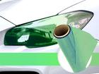 Película Adesiva Verde Camaleão Farol e Lanterna 1m Aplicação Universal