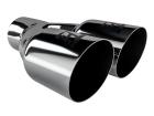 Ponteira de Escapamento Aço Inox Luzian Dupla - Modelo P008