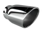 Ponteira de Escapamento Aço Inox Luzian - Modelo P002