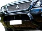 Protetor Frontal Overbumper para L200 2004 até 2012 Dfender Preto