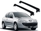 Rack para Peugeot 207 até 2012 - Projecar Preto