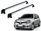 Rack Travessa de Teto para Renault Clio até 2012 Projecar Prata