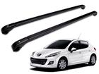 Rack de Teto Travessa para Peugeot 206/207 SW (sem teto solar) - Projecar Preto Fino