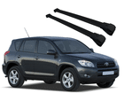 Rack Travessa de Teto para RAV4 até 2012 - Projecar Preto Largo