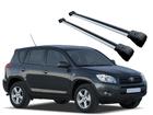Rack Travessa de Teto para RAV4 até 2012 - Projecar Prata Largo