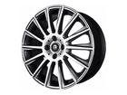 Roda KR R66 Réplica Mercedes AMG C63 Aro 17x7 5x108 Grafite Diamante ET40