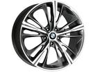 Roda KR R55 Réplica BMW Série 4 Aro 17x7 5x120 Grafite Diamante ET40