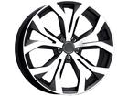 Roda KR R35 Réplica Audi RS6 Aro 17x7 4x108 Grafite Diamante ET40